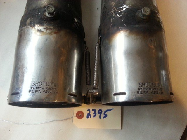 Shotgun Exhaust Silencers — USED