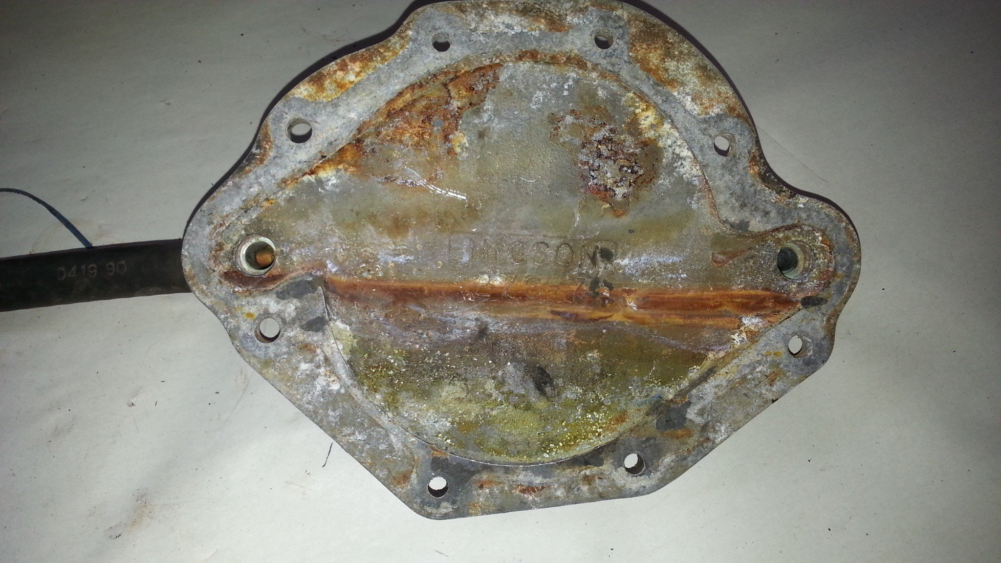 Oldsmobile Front Water Cover Plates — USED