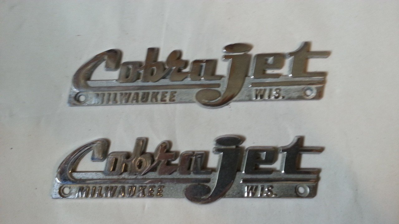 Cobra Jet Badges — USED