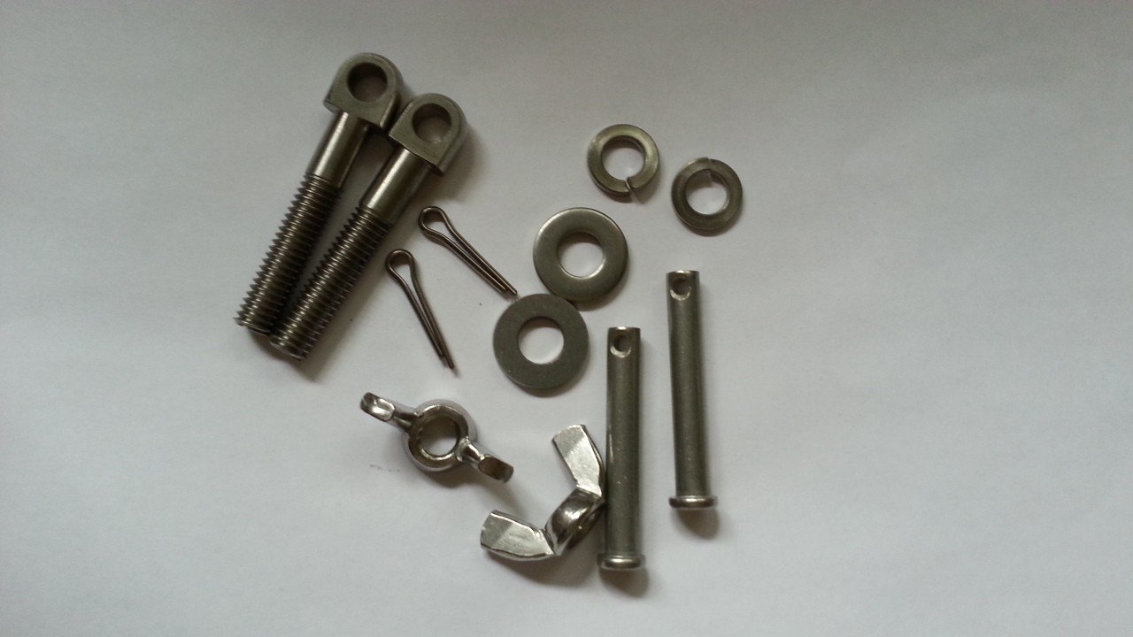 Hand Hole Cover Eye Bolt Kits — Heavy Duty