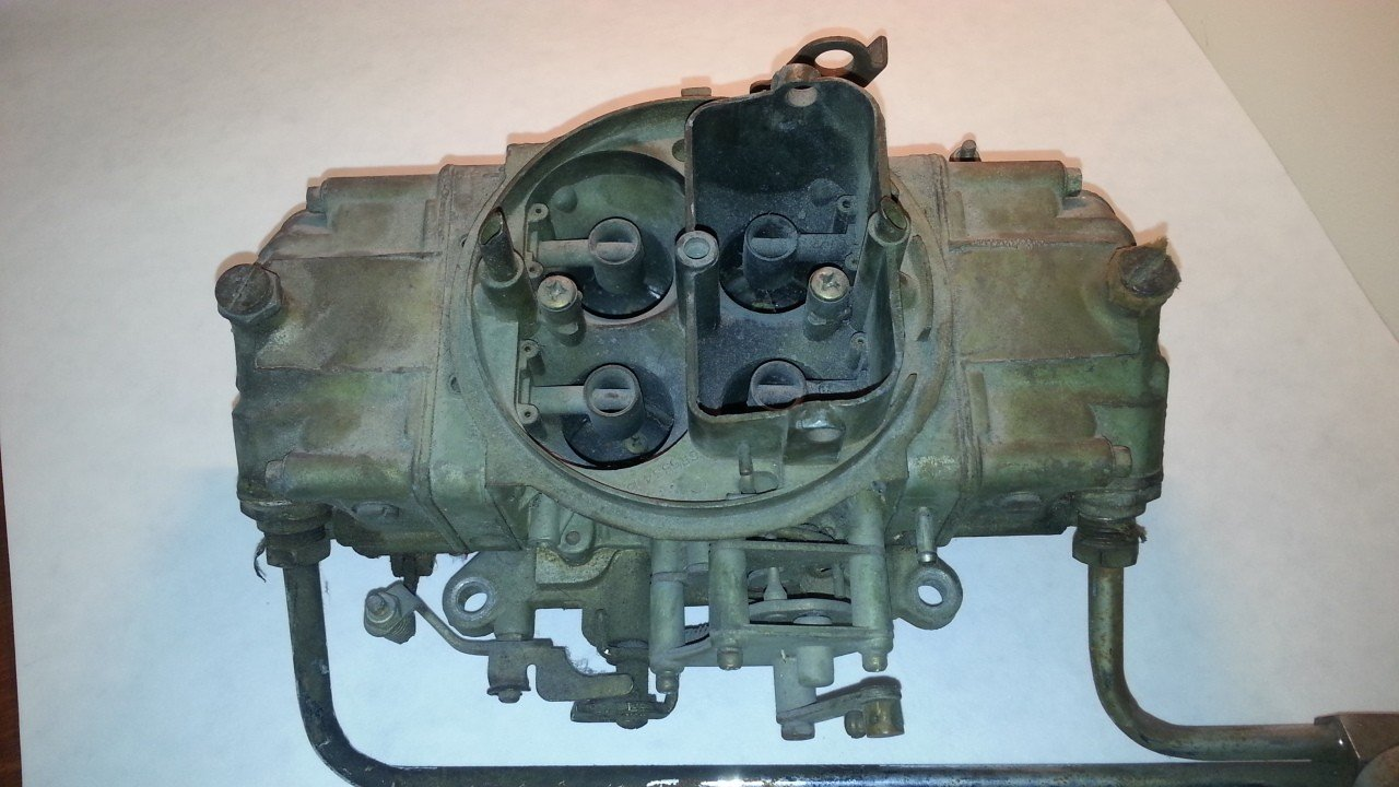Holley 650 CFM Carburetor R80777 — USED