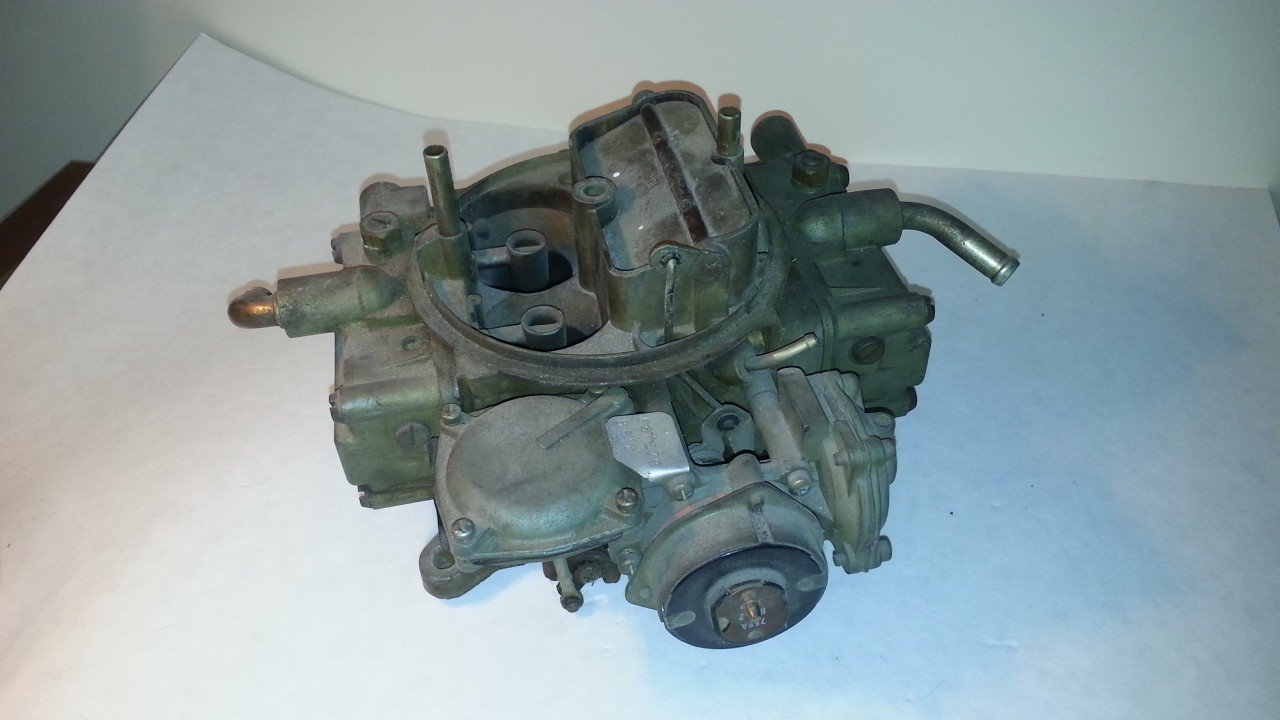 Motorcraft Holley 600 CFM Carburetor 50264-1 — USED