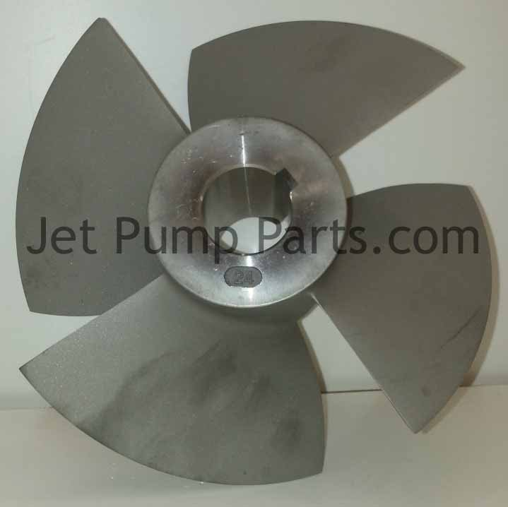 24° Impeller— Fits Marine Power X-Stream Pumps — Fig. No. 46