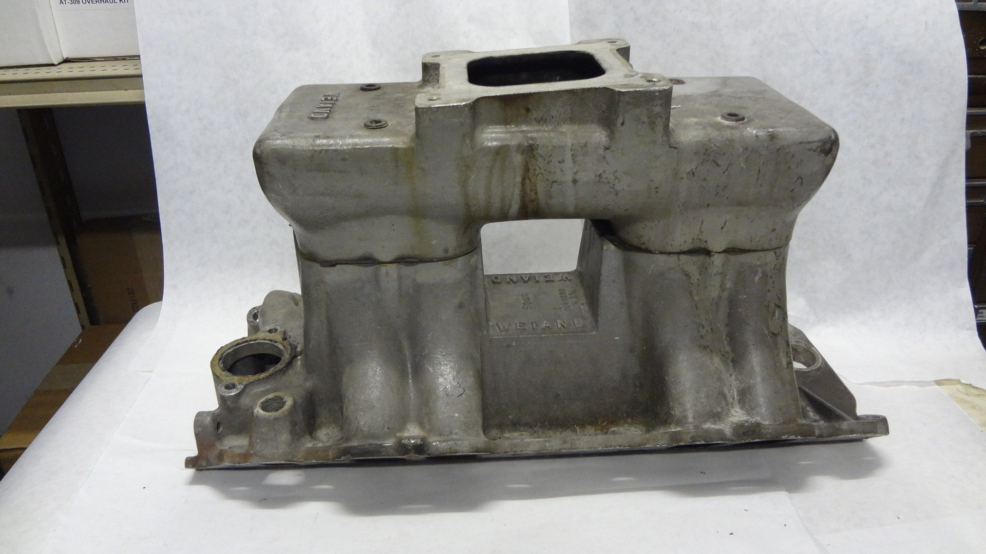Weiand Rectangular Port Manifold  for Big Block Chevy — USED