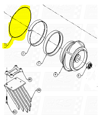 Bowl O-Rings fit Dominator 12TD-B1007 — Fig. No. 1