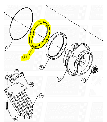 Plastic Insulators fit Dominator 12TD-B1007 — Fig. No. 2
