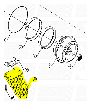 Intake Grates fit Dominator 12TD-B1007 —  Fig. No. 49