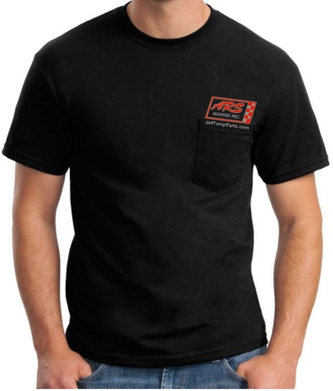 Black ARS Jet Parts T-Shirt — Free Shipping