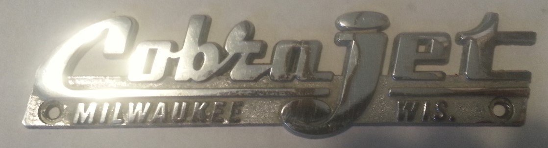 Used Cobra Jet Badge — USED