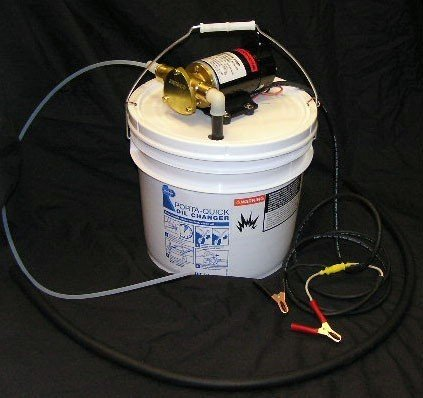 Electric Oil Changer — 12 Volt