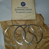 OMC Outboard Marine 3 piece Piston Ring Set 378436 378436  — (NOS)