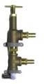 Water Pressure Bypass Regulator / Relief Valve  —  3/4 NPT Main Body with 1/2 NPT Fittings