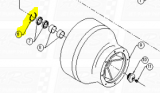 Bowl Snap Rings fit SD312 — Fig. No. 6
