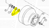 Glacier Bowl Bearings fit FW-309 — Fig. No. 8