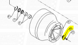 Bowl Bearing End Caps fit FW-309 —  Fig. No. 10