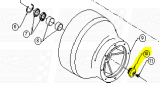 Bowl Bearing End Caps fit SD312 —  Fig. No. 10