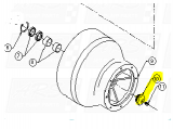 Bowl Bearing End Caps fit Dominator 12TD-B1007 —  Fig. No. 10