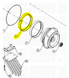 Plastic Insulators fit TJ309-HP — Fig. No. 2