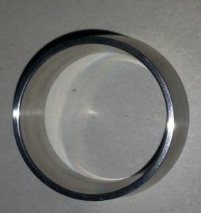 Tapered spacer for HM Inducer