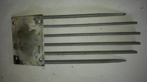 Berkeley Rock Grate — USED