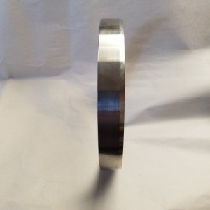 STOCK Berkeley NON shouldered wear rings — Stainless Steel