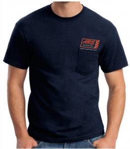 Navy ARS Jet Parts T-Shirt — Free Shipping