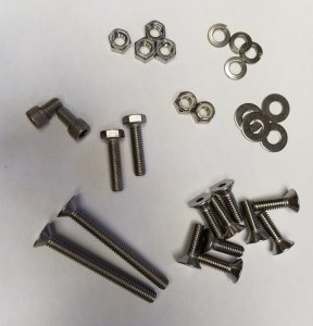 Shoe and Ride Plate Bolt Kits
